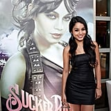 Vanessa Hudgens wore an LBD by Black Halo.