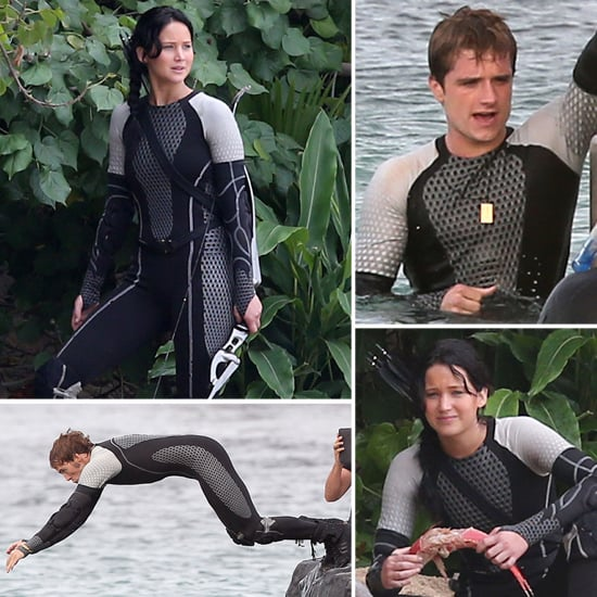 The Hunger Games Catching Fire Pictures on the Set