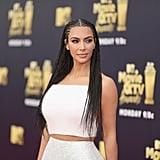 Kim Kardashian's Outfit MTV Awards 2018
