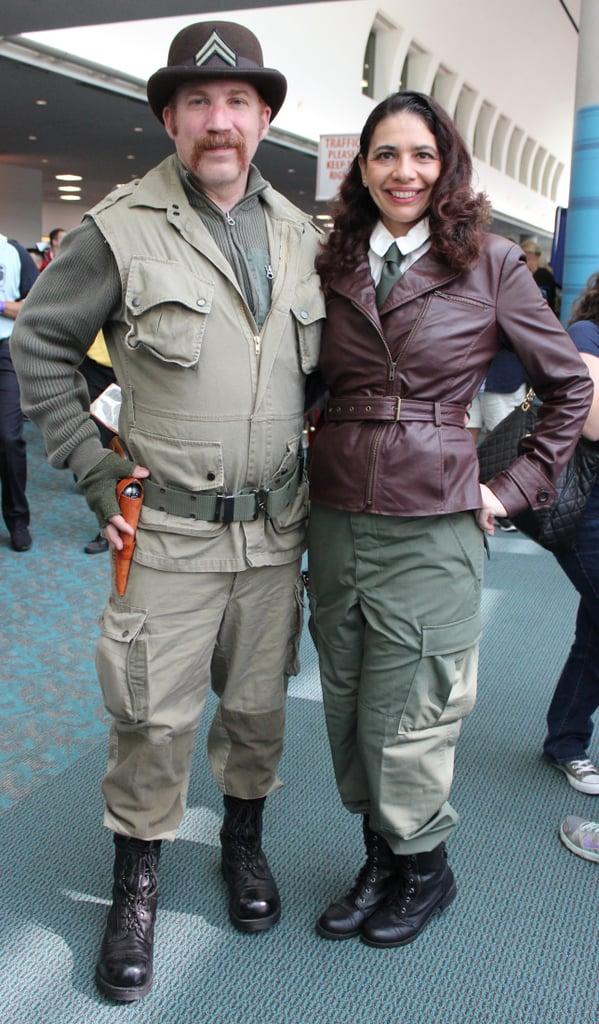 Dum Dum Dugan and Agent Carter