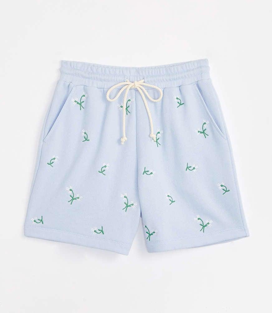 Daisy Terry Drawstring Shorts