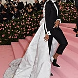 Zazie Beets at the 2019 Met Gala