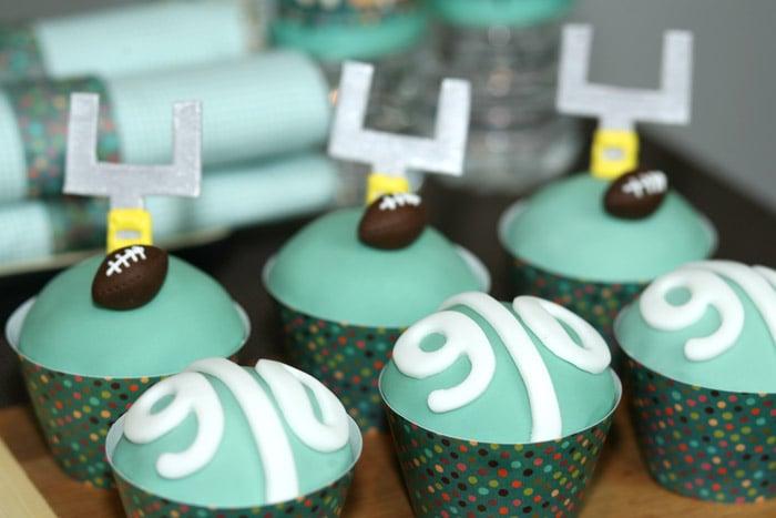 Touchdown Cupcakes