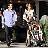 Modern Family's Ty Burrell and Sofia Vergara Spend a Day on Set With Lily