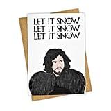 Jon Snow Greeting Card