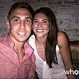 US soccer player Hope Solo met up with Geoff Cameron in Manchester.  Source: Hope Solo on WhoSay