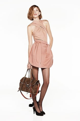 Carven Criss Cross Dress ($579)