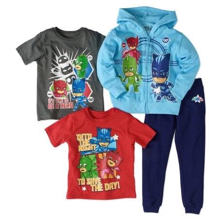 PJ Masks 4-Piece Clothing Set