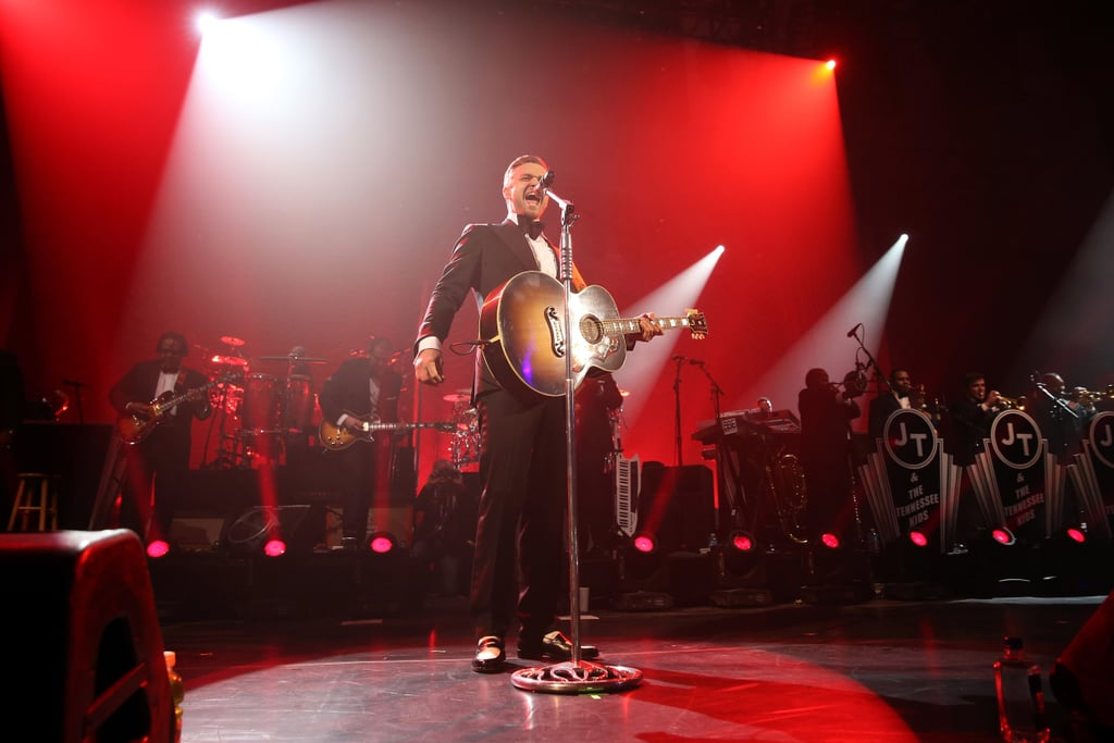 Justin Timberlake gave a fantastic live performance Saturday night in New Orleans before Super Bowl Sunday.