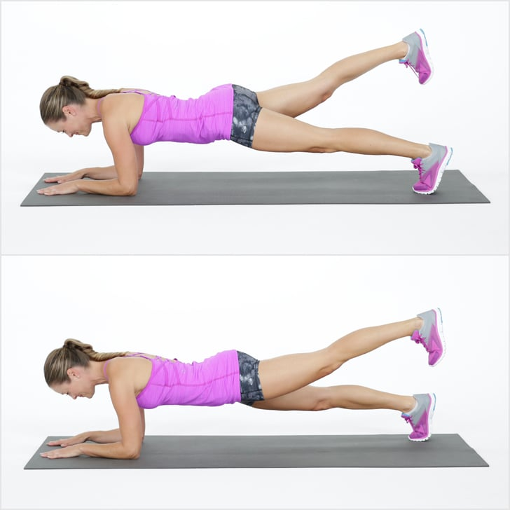 Elbow Plank With Leg Lift | Full-Body No-Equipment Workout ...