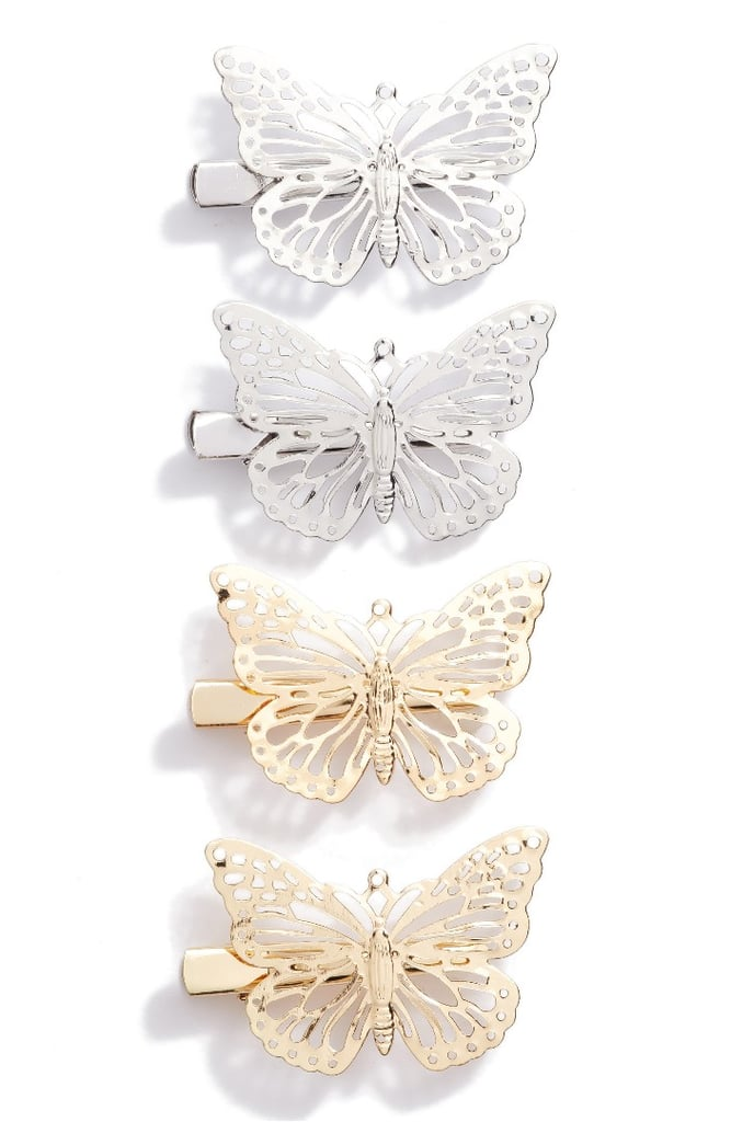 Butterfly Clips Set of 4