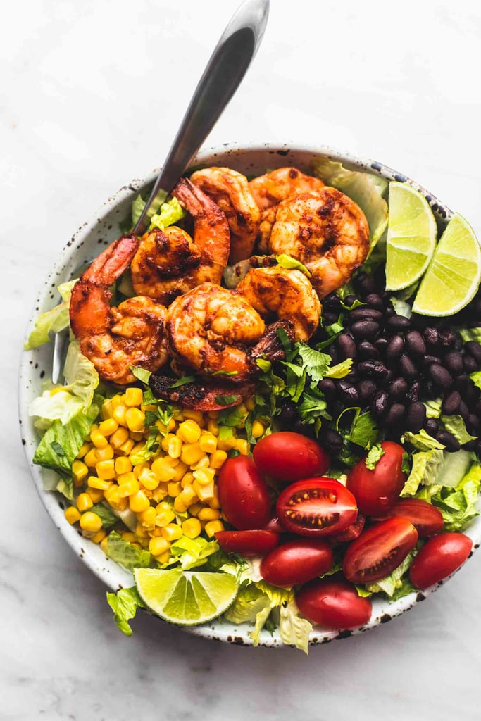 Fiesta Lime Shrimp Salad | Best Healthy and Easy Taco ...