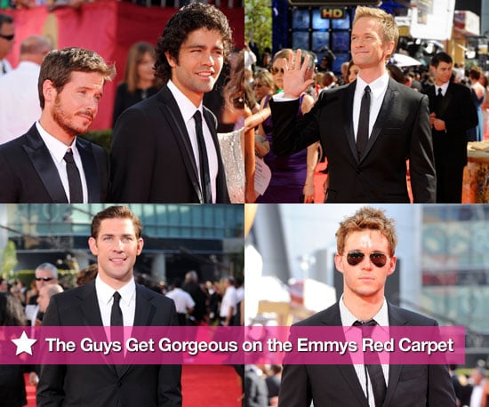 The Guys Get Gorgeous on the Emmys Red Carpet