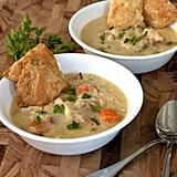 Chrissy Teigen Recipe: Chicken Pot Pie Soup With Pie Crust Crackers