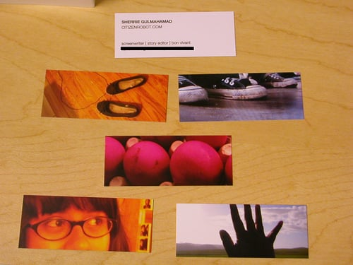 Turn Your Digital Photos Into Colorful Business Cards