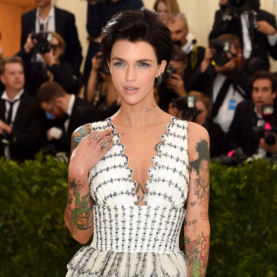 Ruby Rose at the 2017 Met Gala