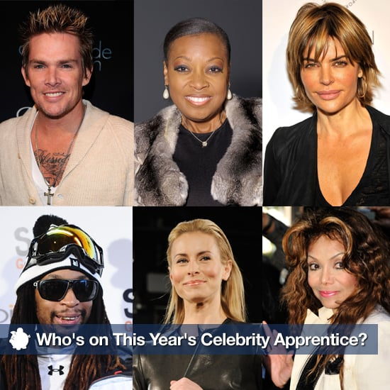 Who are the Celebrity Apprentice candidates? Get the full ...