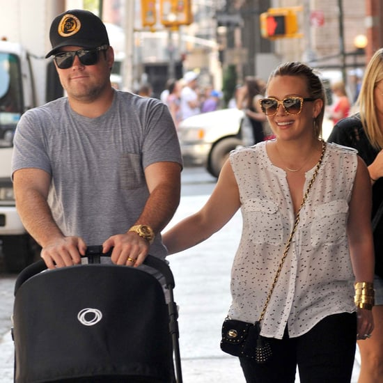 Hilary Duff and Mike Comrie With Baby Luca