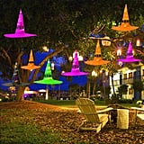 Maoyue Outdoor Hanging Lighted Glowing Witch Hats