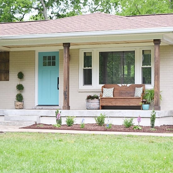 DIY Home Exterior Makeover