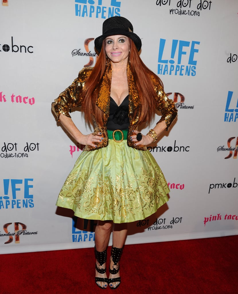 Phoebe Price attended the premiere of Life Happens in Century City.