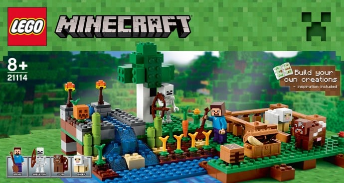 Sneak a Peek at the Brand-New Minecraft Lego Sets