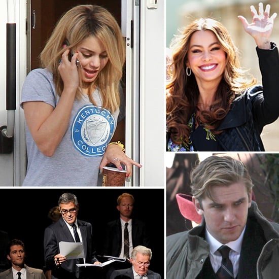 Pictures of Celebrities on Set For the Week of March 9, 2012