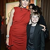 Jennifer Garner smiled with her twelve year old costar CJ Adams at the LA premiere of The Odd Life of Timothy Green.