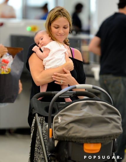 Danneel-Harris-smiled-while-holding-her-new-baby-daughter