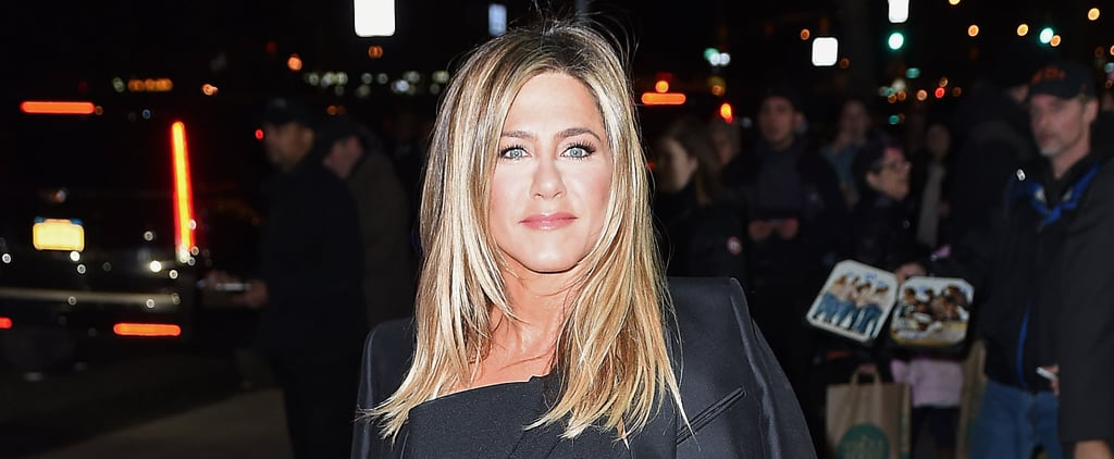 Jennifer Aniston Was So Excited to Wear This Céline Coat, She Forgot All About the Tags