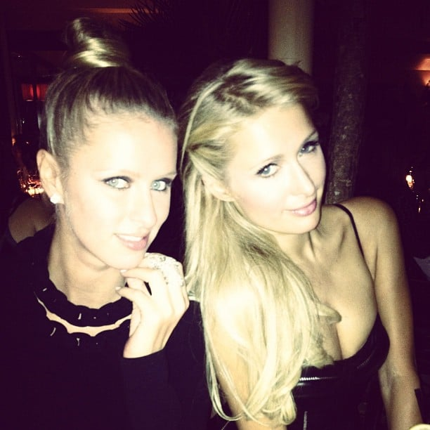 Paris Hilton and Nicky Hilton went to Diane von Furstenberg's dinner party during NYFW. Source: Instagram user nickyhilton
