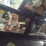 Erin Heatherton Filming Grown Ups 2