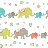 Tag Along Elephants Wall Art Decal
