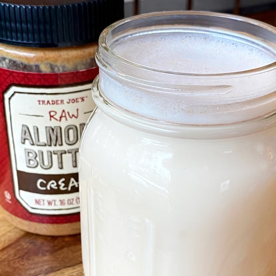 Sugar-Free Almond Milk Recipe Made From Almond Butter