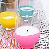 Make DIY Citronella Candles