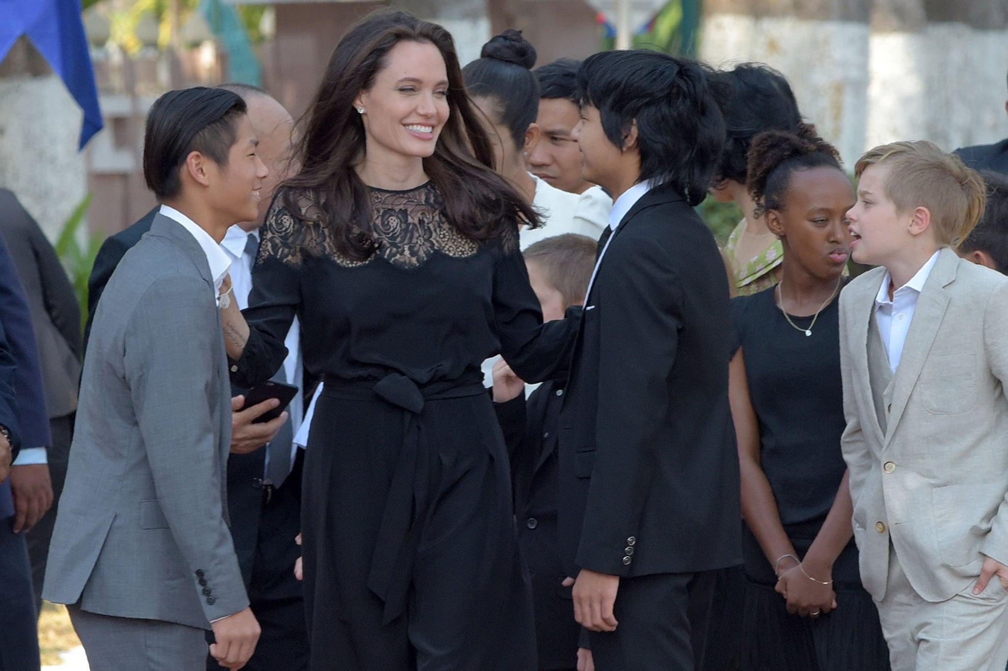 Celebrity Gossip &... Angelina Jolie Kids Grown Up