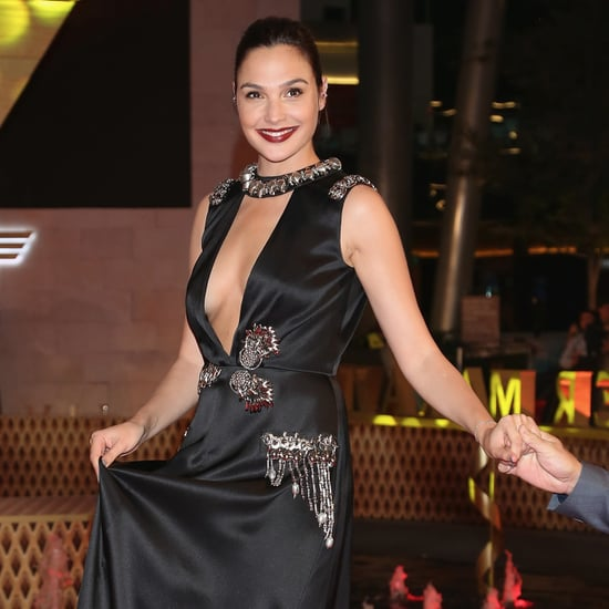 Gal Gadot Rocket Dog Shoes at Wonder Woman Premiere