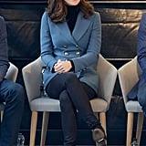 Kate Middleton's Blue Philosophy di Lorenzo Blazer