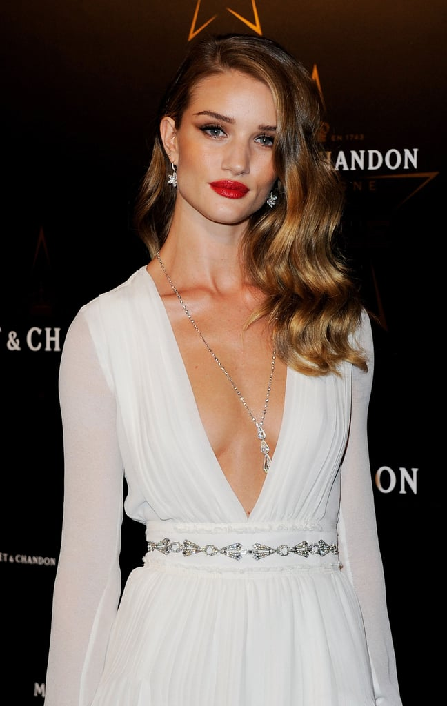 Rosie Huntington Whiteley Completes An Elegant Look With