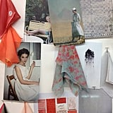 This mood board at Suno showcased the feel of the collection: a slice of Americana mixed with glamorous detailing.