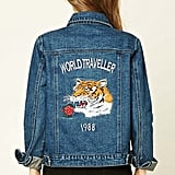 The Embroidered Denim Piece She Won't Want to Live Without