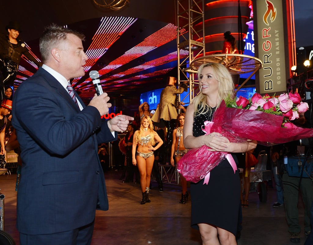Britney Spears Gets a Wild Welcome in Sin City