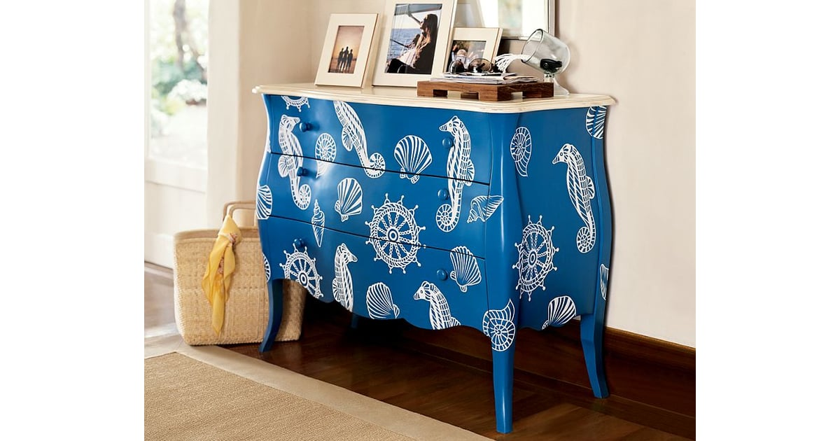 nice and new nautical cabinet from pottery barn. Black Bedroom Furniture Sets. Home Design Ideas