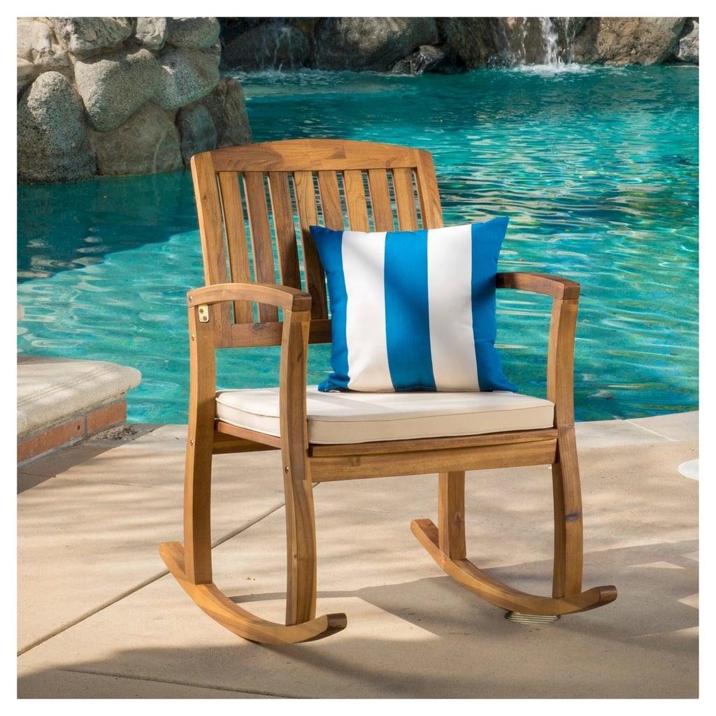 Selma Acacia Rocking Chair
