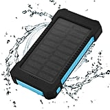 Floureon Solar ChargerPortable Power Bank