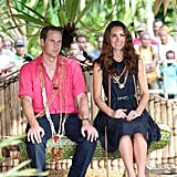 On day seven of their tour, the duke and duchess enjoyed the Solomon Islands.
