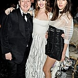 Stephen Jones, Anne Hathaway in Valentino couture, Caroline Sieber