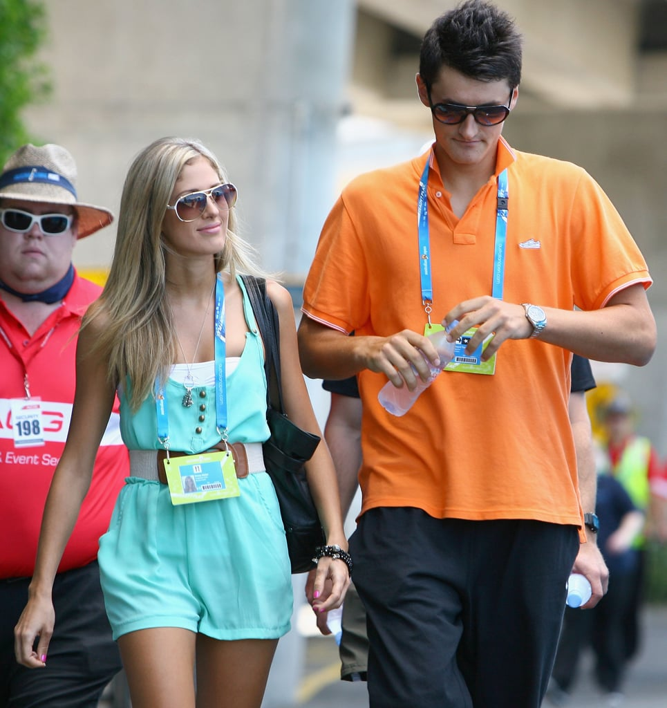 Donay Meijer and Bernard Tomic