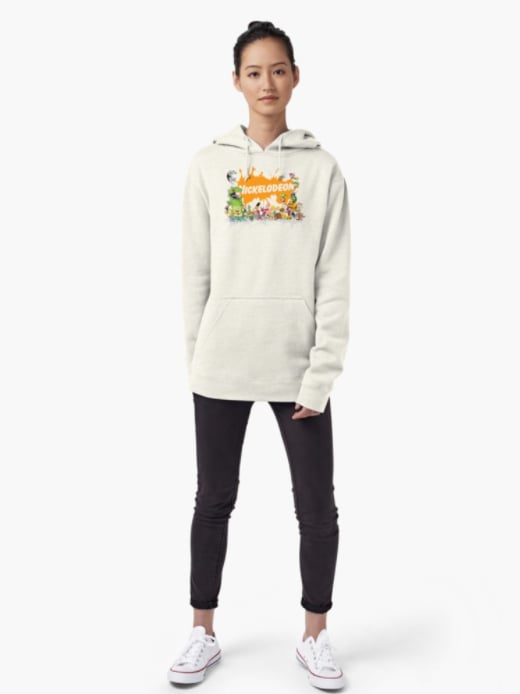 Redbubble Ultimate Nickelodeon Nicktoons Pullover Hoodies ($51)