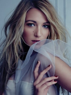 Blake Lively posed in the pages of Bullet magazine.